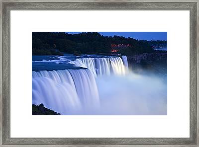 American Falls Niagara Falls Framed Print