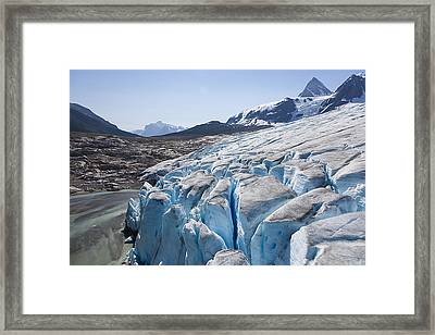 An Aerial View Over The Bottom Edge Framed Print