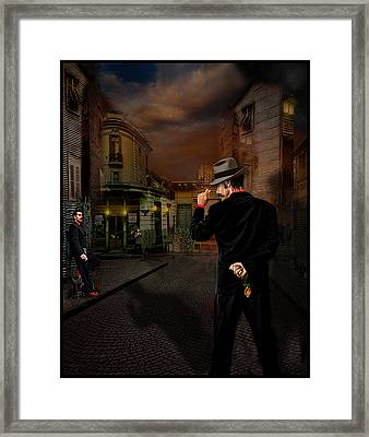 Another Night Of Tango Framed Print
