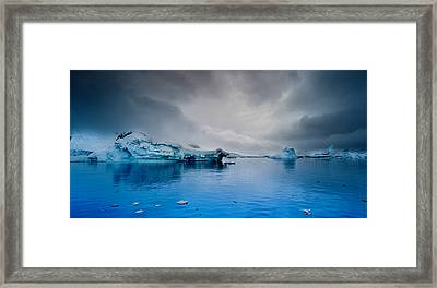Antarctic Iceberg Framed Print