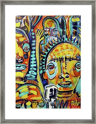Any Questions Framed Print by Robert Wolverton Jr