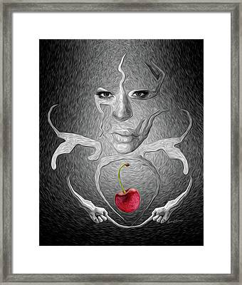 Apparition Framed Print by Anthony Caruso