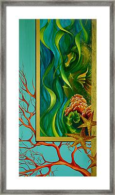 Framed Print featuring the painting Aquatica by Dina Dargo