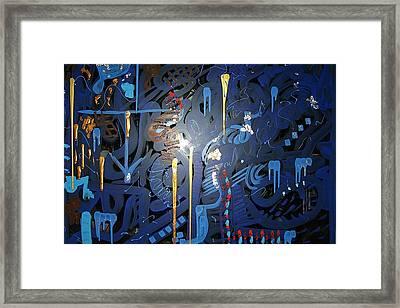 Art Fusing 2 Framed Print by Svetlana Vinokurtsev