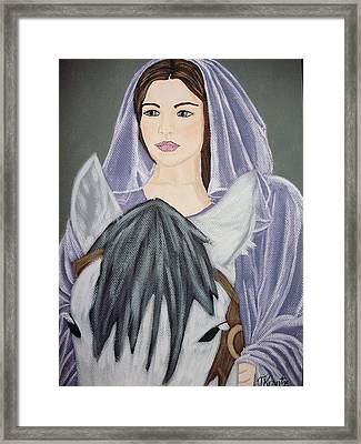 Arwen Framed Print by Tammy Rekito
