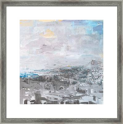 Athens Is Waking Up 01  Framed Print by Jelena Ignjatovic