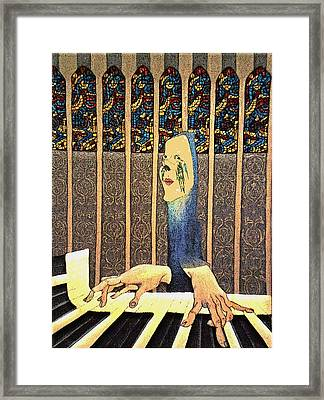 Ave Maria Framed Print