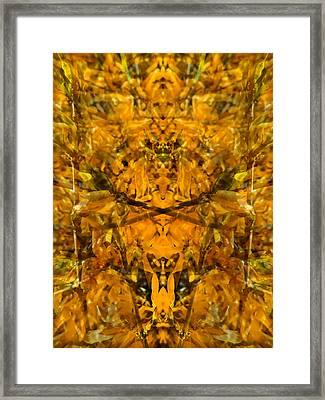 Aztec Dream Framed Print by Lynzi Wildheart