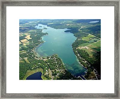 B-003 Big Cedar Lake Washington Co. Framed Print