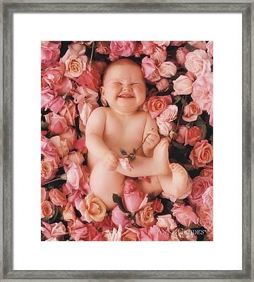 Baby Flowers 2 Framed Print
