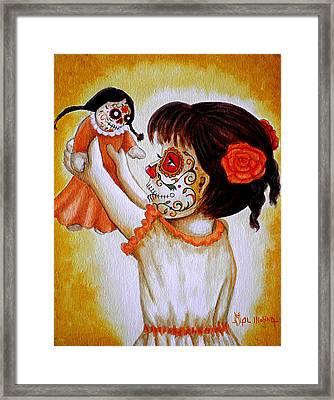 Bailando Con Mi Muneca  Framed Print