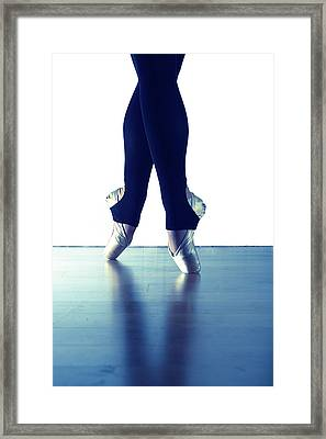 Ballet Feet 1 Framed Print by Scott Sawyer