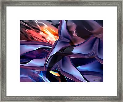 Bats Framed Print by Christian Simonian