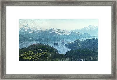 Beautiful Nature Framed Print by Jutta Maria Pusl