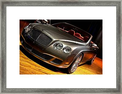 Bentley Continental Gt Framed Print by Cosmin Nahaiciuc