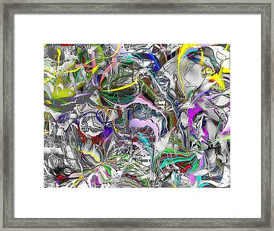 Big Wire Framed Print by Dave Kwinter