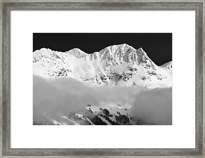 Blackcomb  Framed Print