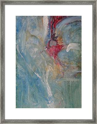 Framed Print featuring the painting Bloom by John Fish