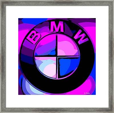 BMW Framed Print by George Pedro