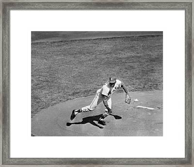 Bob Gibson (1935- ) Framed Print