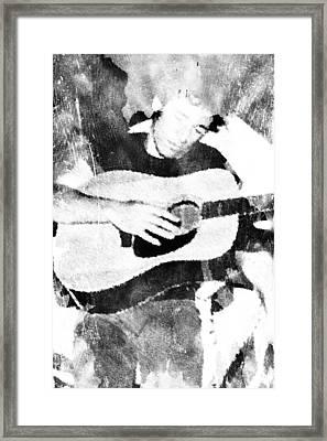 Boss Bruce Framed Print