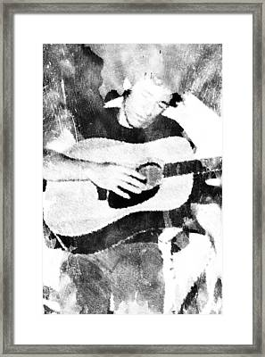 Framed Print featuring the digital art Boss Bruce by Andrea Barbieri