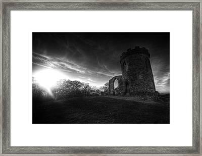 Bradgate Park At Dusk Framed Print