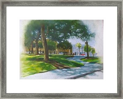Brick City Ocala Fl Framed Print