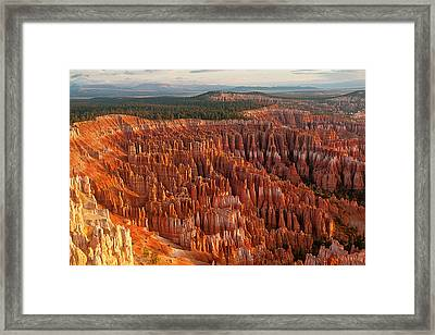 Bryce Canyon Framed Print by Phil