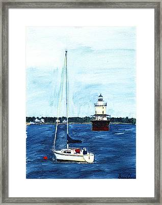 Butlers Flat New Bedford Framed Print by David Poyant