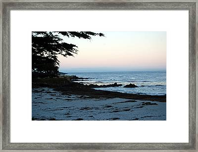 Carmel Beach Awakes Framed Print