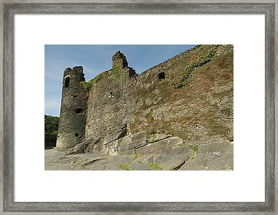 Framed Print featuring the photograph Castle - Ardennes - Belgium by Urft Valley Art