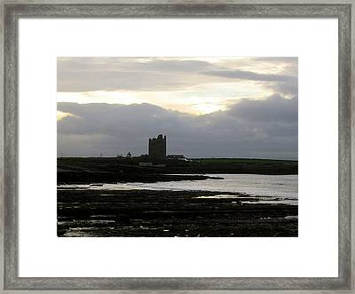 Castle At Easki Framed Print by Amy Williams