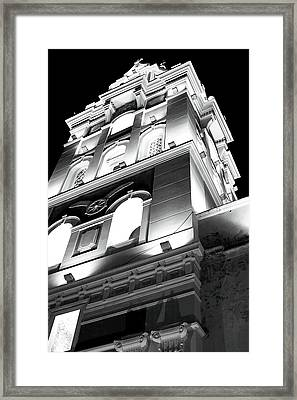 Cathedral In Cartagena Framed Print