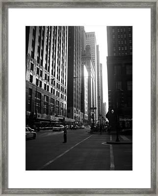Chicago 2 Framed Print