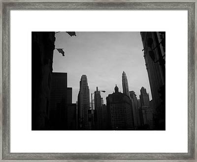 Chicago 3 Framed Print
