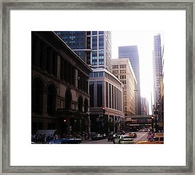 Chicago 6 Framed Print