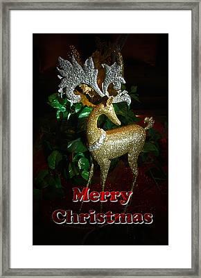 Christmas Card Framed Print by Chris Brannen