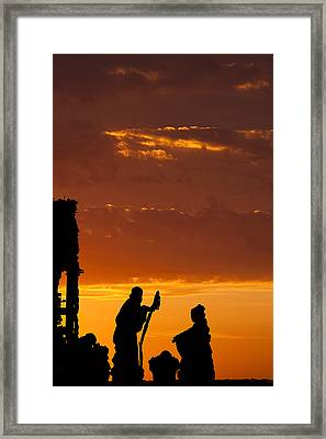 Christmas Morning Framed Print by Andrew Soundarajan