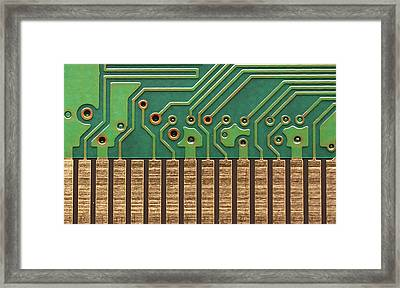 Circuit Life Framed Print by Patrick English