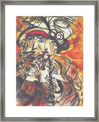 Clarenet Framed Print by David Grudniski