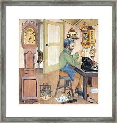 Clockmaker 1 Framed Print