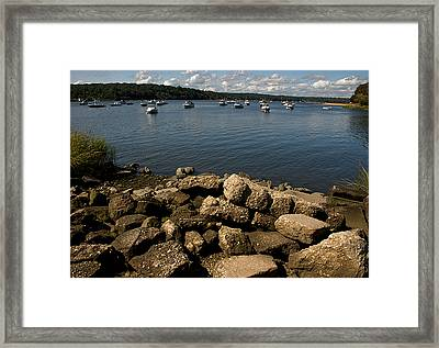 Cold Spring Harbor Framed Print