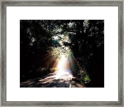 Country Road, Kenmare, Co Kerry, Ireland Framed Print