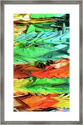 Cranes For Peace Framed Print by Jessica Estrada