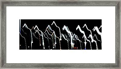 Framed Print featuring the photograph Dance by Cyryn Fyrcyd