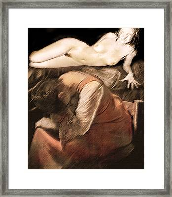 Framed Print featuring the photograph Danse De La Memoire by Sandro Rossi