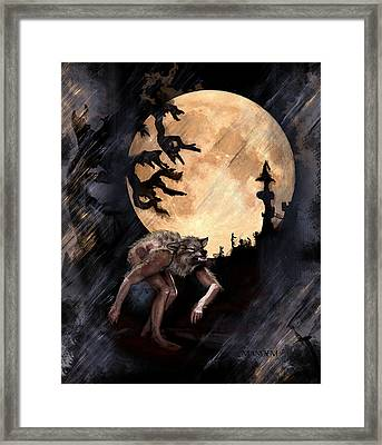 Darkenwarg Framed Print by Mandem