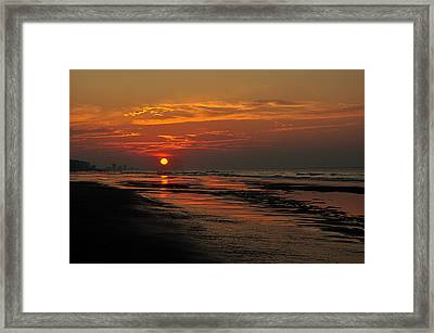 Dawn Of A New Day Framed Print by Kathy Jennings