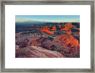 Dead Horse Point Framed Print by Lorenzo Marotti Campi